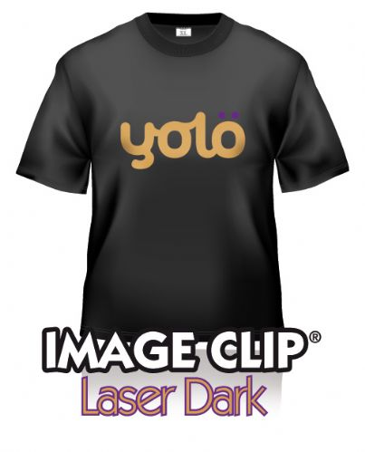 Image Clip® Laser Dark Self-Weeding Heat Transfer Paper